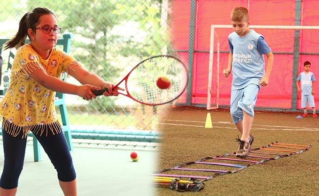 Merkezefendi'de Yaz Spor Okullarına yoğun ilgi