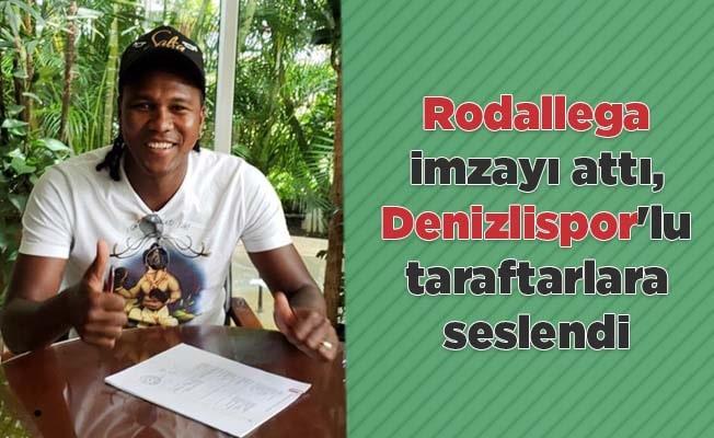 Rodallega Denizlispor'lu taraftarlara seslendi