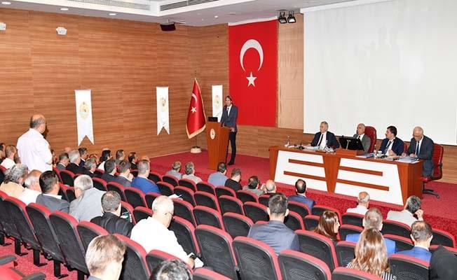 2019'un 3. Dönem İl Koordinasyon Kurulu Toplantısı yapıldı