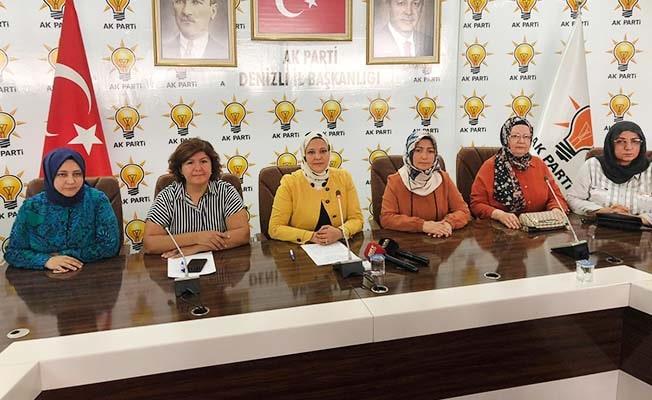 AK Partili kadınlar Srebrenitsa katliamını andı