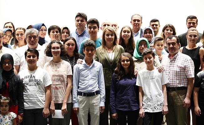 Başkan Doğan başarılı öğrencileri ödüllendirdi