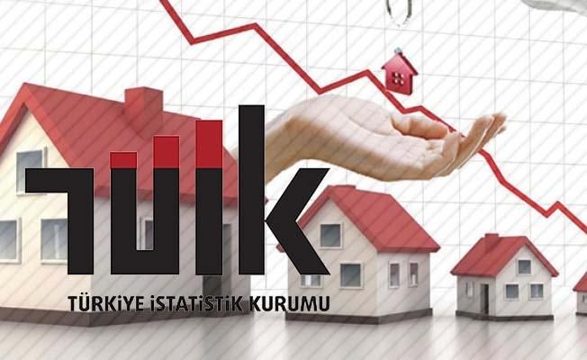 Denizli'de konut satışları %67,9 azaldı