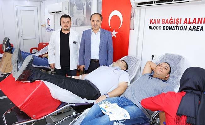 DESKİ. Kan bağışı kampanyasına 8. kez destek oldu