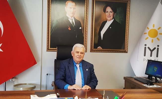 İYİ Parti İl Başkanı Bozkurt'tan su zammına tepki