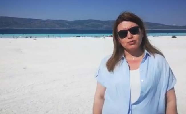 """Karaca Salda Gölü için seslendi: """"Sessiz çığlığıma ses ol"""""""