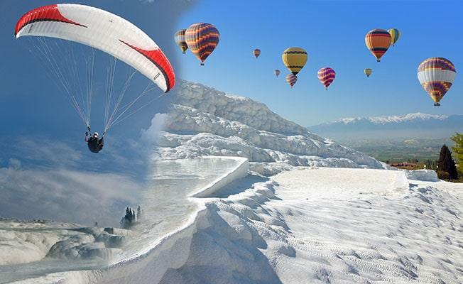 Pamukkale'de uçuşlar daha güvenli olacak