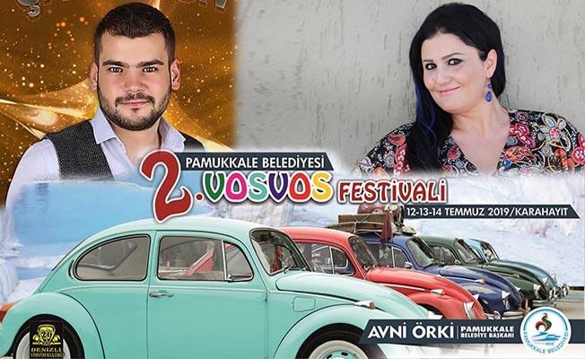 Pamukkale'de Vosvos Festivalinin 2.'si başlıyor