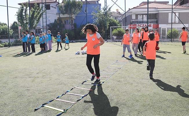 Pamukkale'de spor zamanı