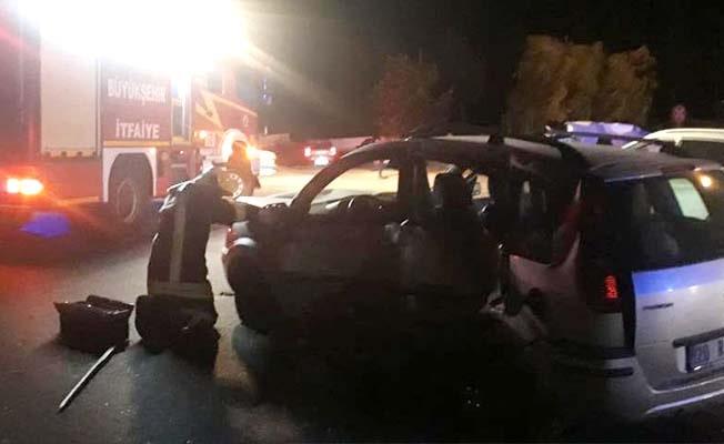 Serinhisar'da kaza: 2 ölü