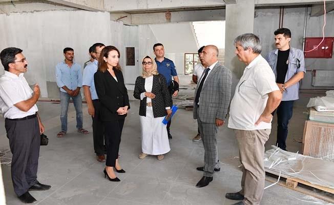 Vali Karahan Güney'i ziyaret etti