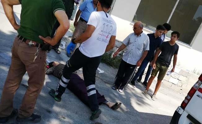 Yolda yürürken bayılan genç kadın hayatını kaybetti