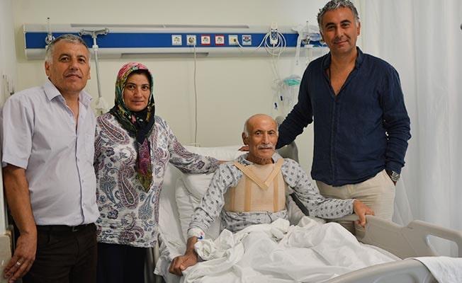 90 Yaşında Paü Hastanesinde şifa buldu