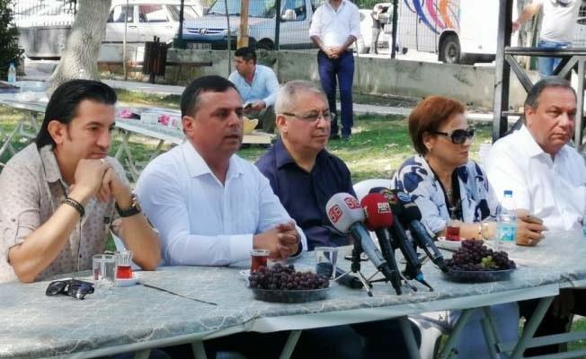 """Başkan Akcan: """"220 Bin dönüm bağ alanı 160 Bine düştü"""""""