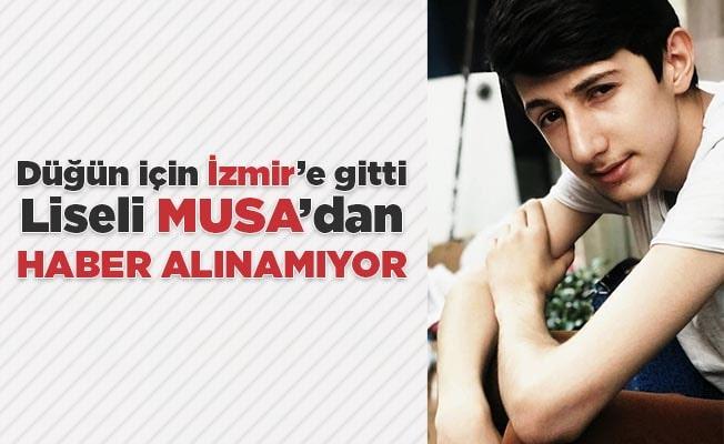 Düğün için İzmir'e giden gençten haber alınamıyor