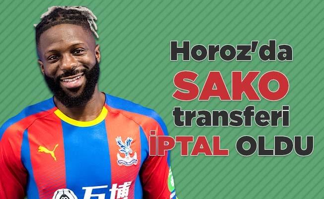 Horoz'da Sako transferi iptal oldu