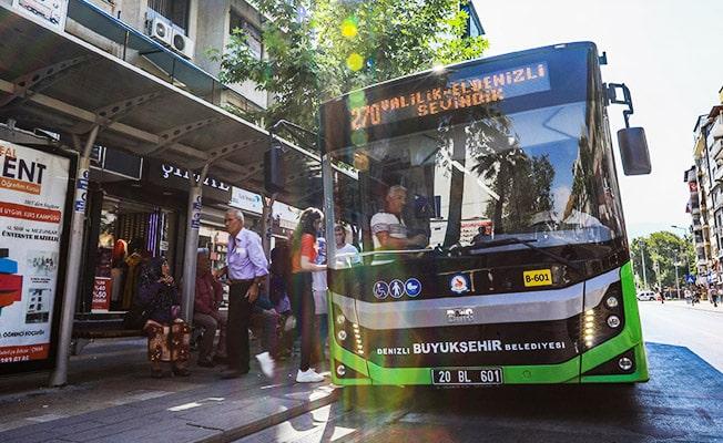 Denizli'de otobüs saatlerinde değişiklik