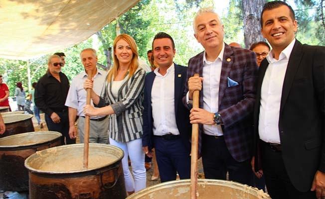 2 gün boyunca kazanlar kaynadı, Babadağ 15 bin kişiyi ağırladı