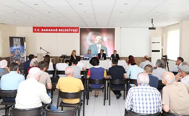 DENİB'in 'Senden İhracatçı Olur' toplantısı Babadağ'da yapıldı