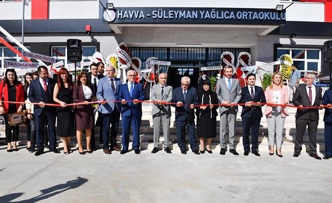 Havva-Süleyman Yağlıca Ortaokulu törenle açıldı
