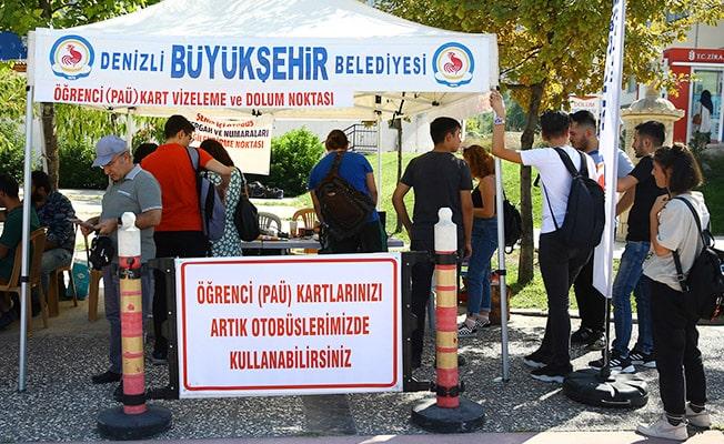 Öğrenciler PAÜ kimlik kartlarıyla otobüslere binebilecek