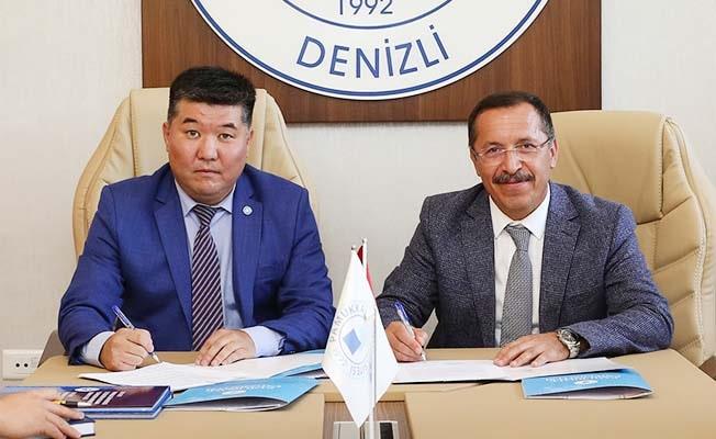 PAÜ, öğrenci değişim programlarına Kırgızistan'ı da ekledi