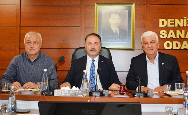 Vakıfbank Genel Müdürü Üstünsalih DSO'yu ziyaret etti