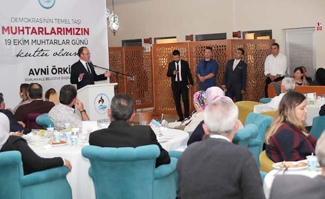 """Başkan Örki: """"Hepimizin kalbinde bir ateş yanıyor"""""""