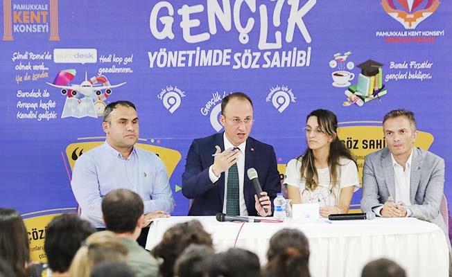 Başkan Örki'den gençlere 'Proje' çağrısı