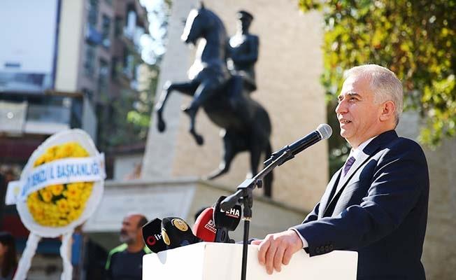 """Başkan Zolan: """"Aşamayacağımız engel, varamayacağımız hedef yoktur"""""""