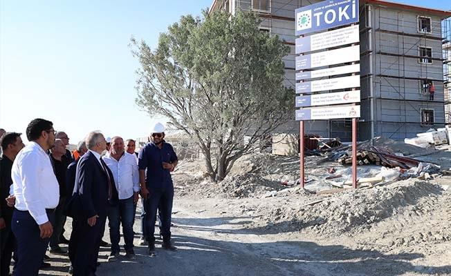 Başkan Zolan Çardak'ta TOKİ konutlarını inceledi