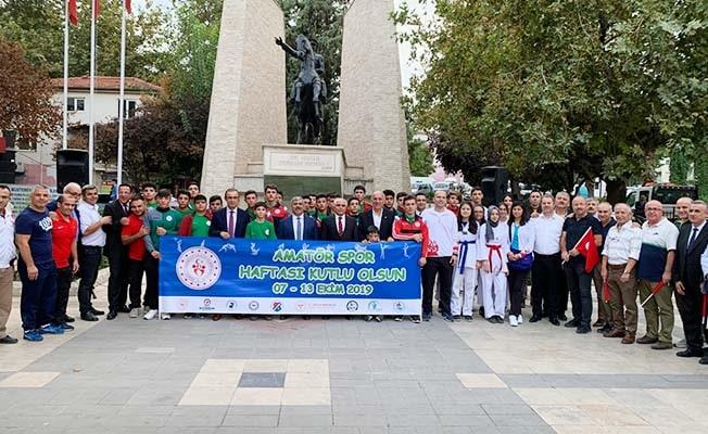 Ceşen'den Amatör Spor Haftası mesajı