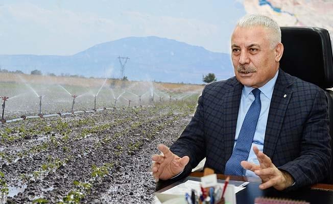 Denizli'de 730 bin dekar tarım arazisi sulandı