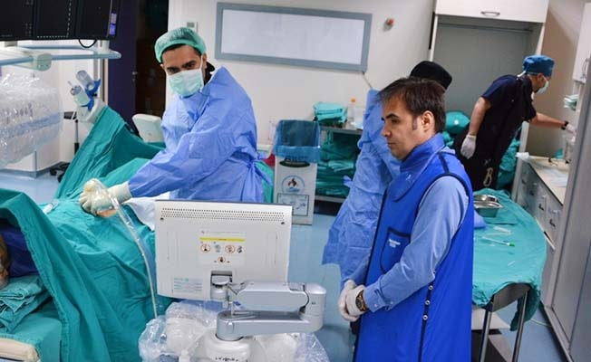 Denizli'de bir ilk uygulama yine PAÜ Hastanesinden