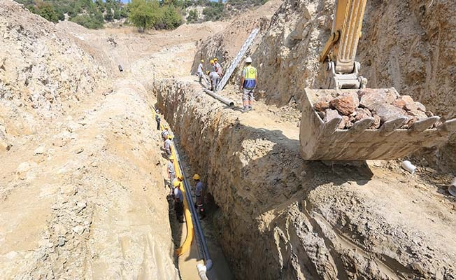 Kale'de Narlı Mahallesinin içme suyu sorunu çözüldü