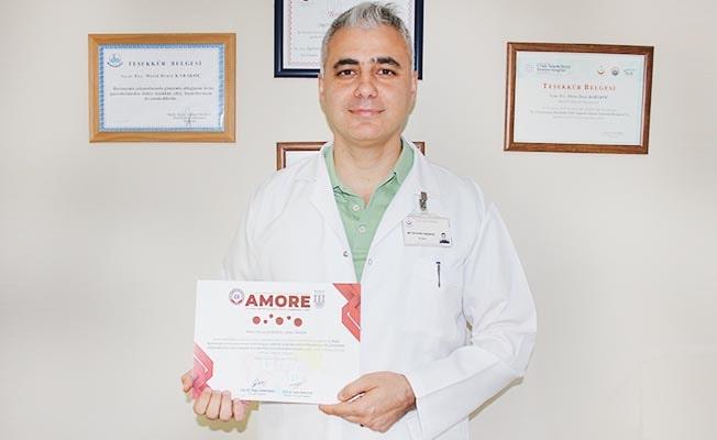 Meme kanserine yönelik çalışmasıyla 2.'lik ödülü aldı