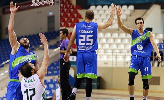 Merkezefendi Basket kupada güle oynaya: 80-63