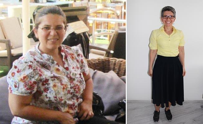 Obezite yüzünden Diyetisyen oldu, 40 kilo verip hastalarına örnek oldu