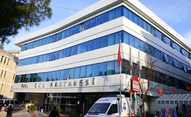 Özel Ege Hastanesi yoluna Özel Ege Kent Hastanesi olarak devam ediyor