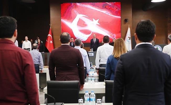 Pamukkale Belediye Meclisi'nden Barış Pınarı Harekatına destek