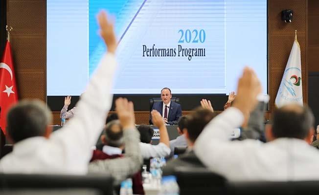 Pamukkale Belediyesi'nin 2020 bütçesi belli oldu
