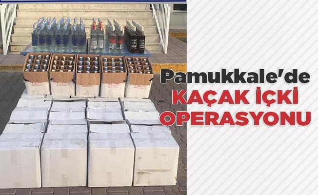 Pamukkale'de kaçak içkiye 44.904 TL ceza