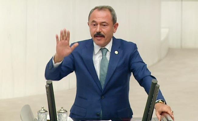 """Şahin Tin TBMM Genel Kurulu'nda konuştu; """"Depremin siyaseti olmaz!"""""""