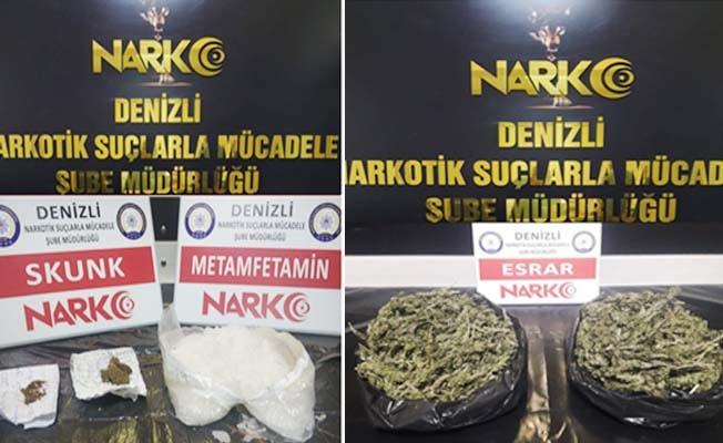 Uyuşturucu operasyonlarında 16 tutuklama