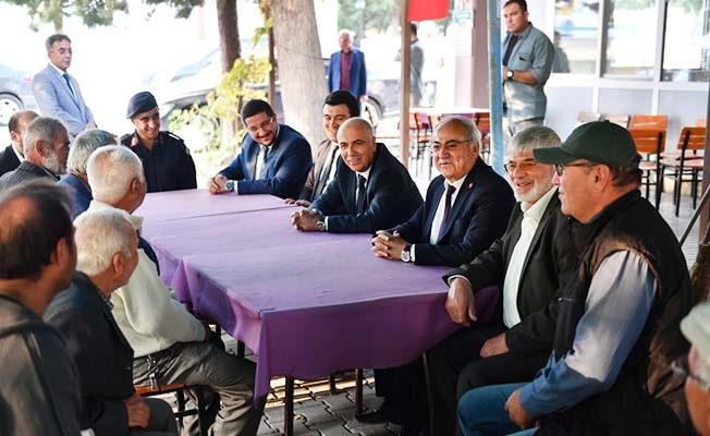 Vali Karahan Baklan'ı ziyaret etti