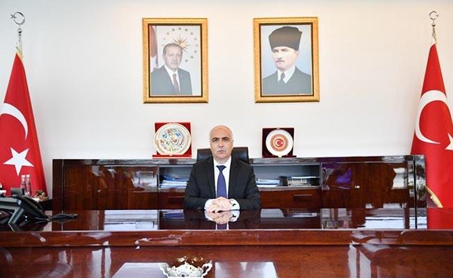 Vali Karahan'dan Cumhuriyet Bayramı mesajı