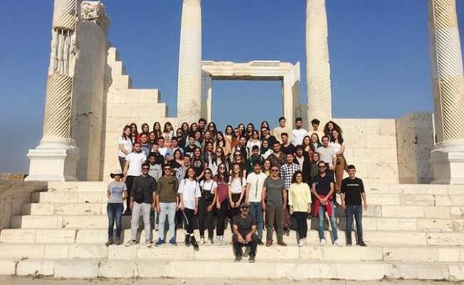 Buldan MYO Öğrencileri Antik Kentte
