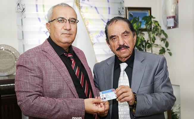 Devlet Sanatçısı Kızılırmak Başkan Arslan'ı ziyaret etti