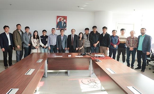 Güney Kore'den Büyükşehir DESKİ'ye ziyaret