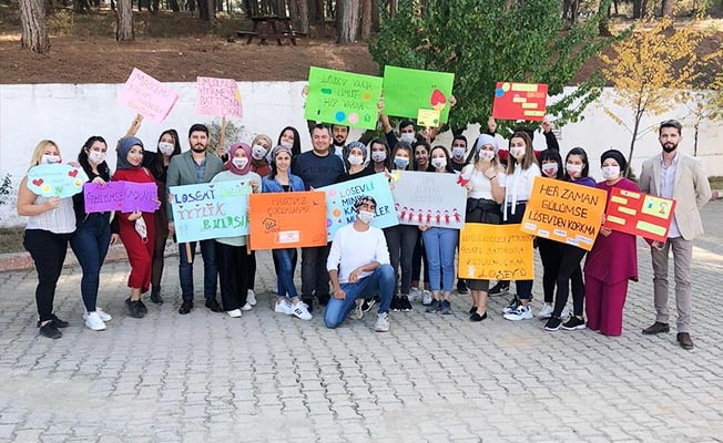 PAÜ Bekilli MYO öğrencilerinden LÖSEV'e anlamlı destek
