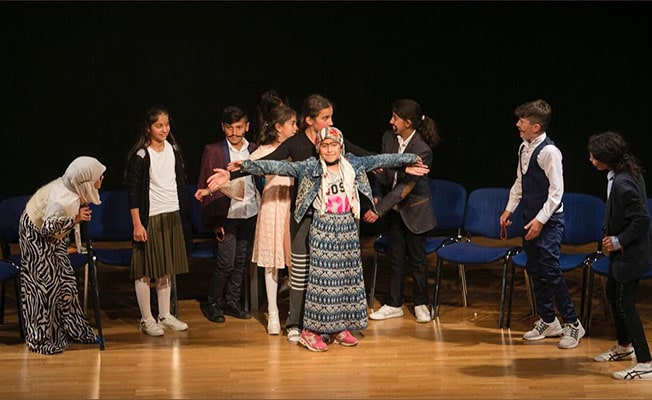 Şırnaklı tiyatrocu çocuklar Merkezefendi'ye geliyor